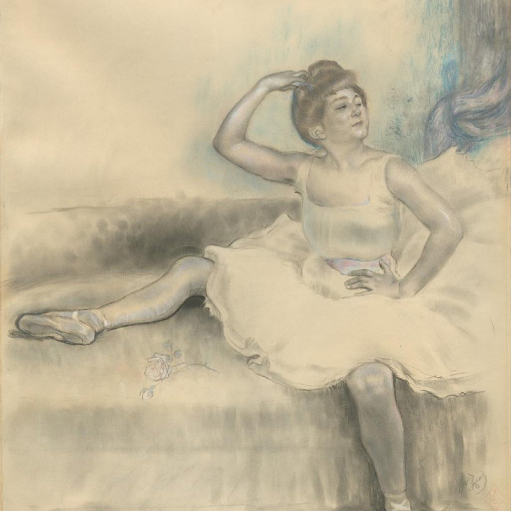 Danseuse Assise