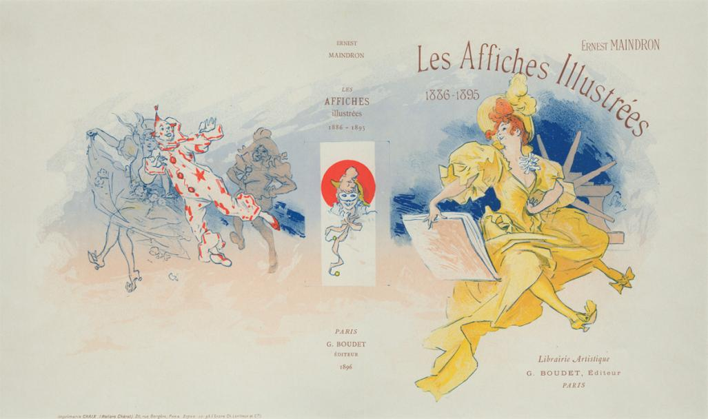 Jules Cheret - The Illustrated Posters - main