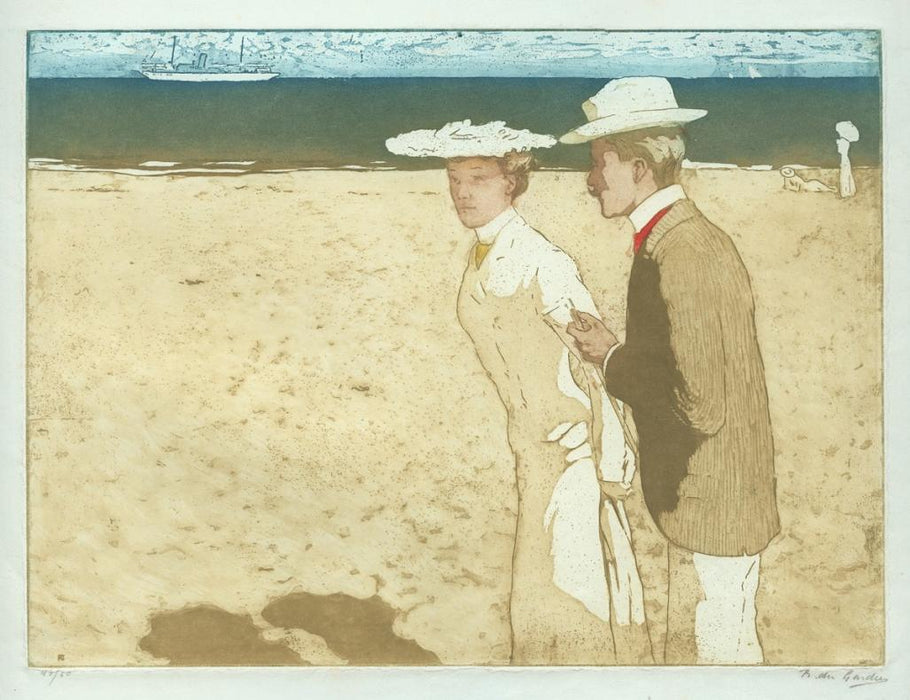 Raoul Du gardier - On the Beach - main