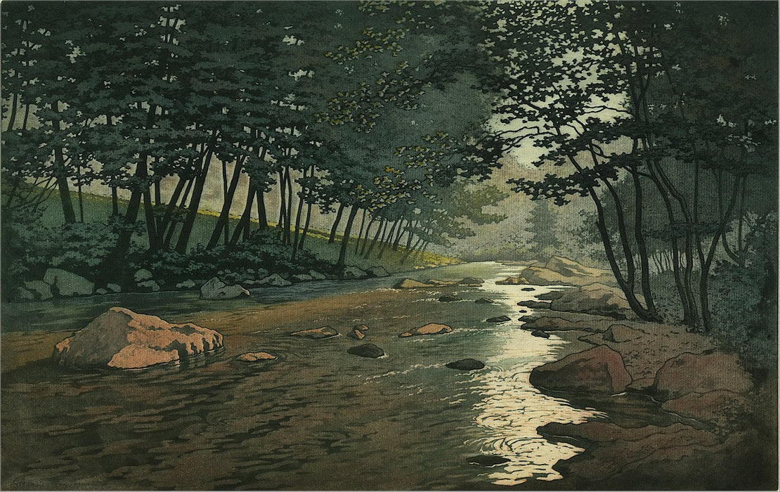 Henri Meunier - Shaded River - main