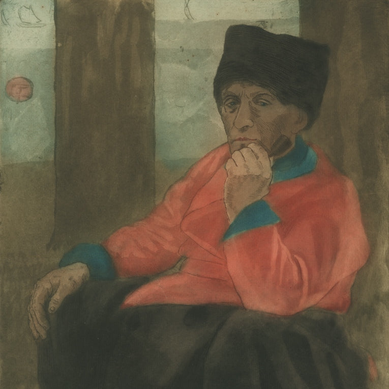 Seated Man or Sailor Smoking