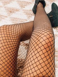 Checkered tights