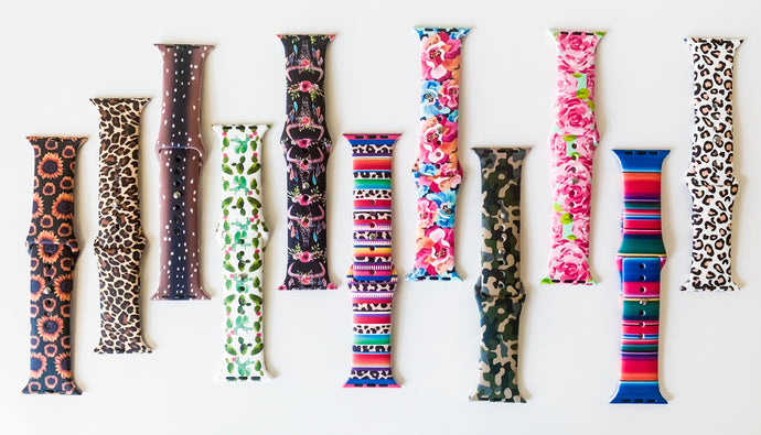 "Apple watch bands - ""Print"" collection"