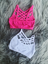 Bralette - black,pink,white