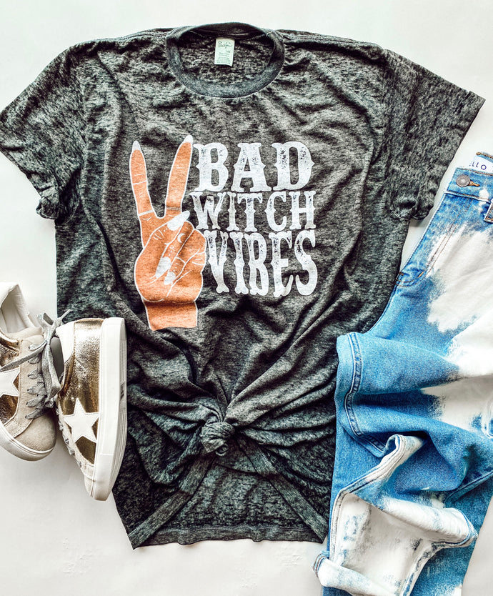bad witch vibes tee