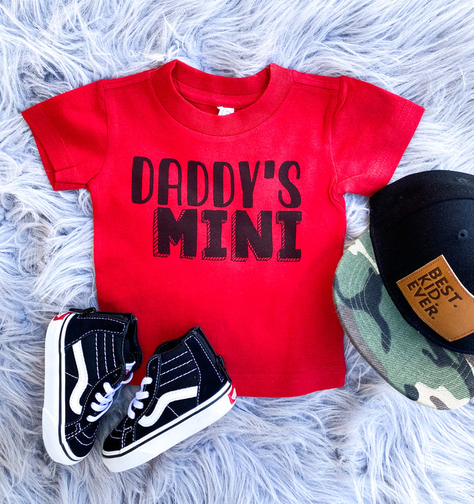 Daddy's mini tee - boy