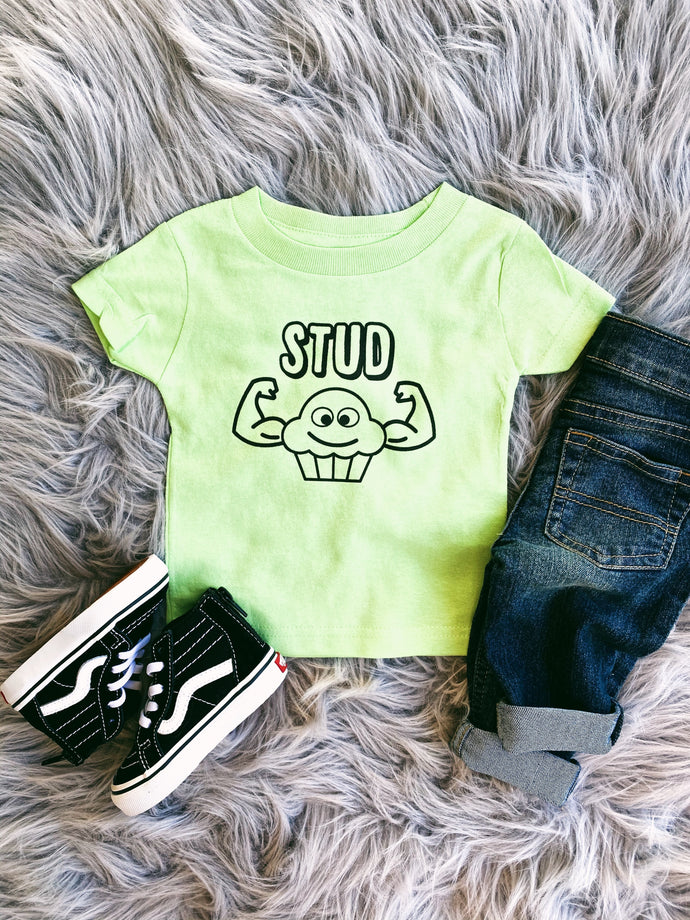 stud muffin tee - multiple colors