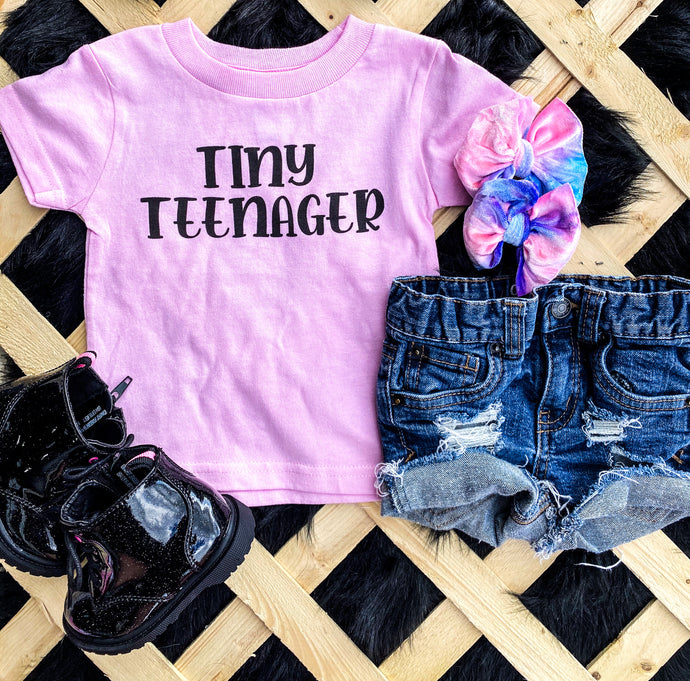 tiny teenager tee