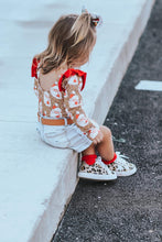leopard star sneakers - kids