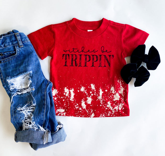 witches be trippin' tee - kids