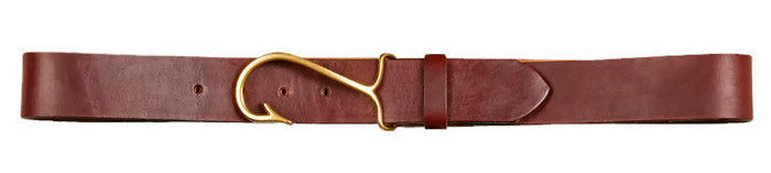 Men's Fishhook Buckle Belt