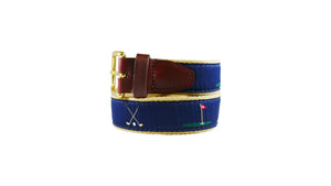 Golf Ribbon Belt