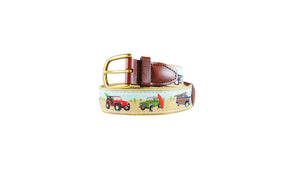 Jeeps and Rovers Custom Ribbon Belt