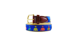 Jockey Silks Ribbon Belt