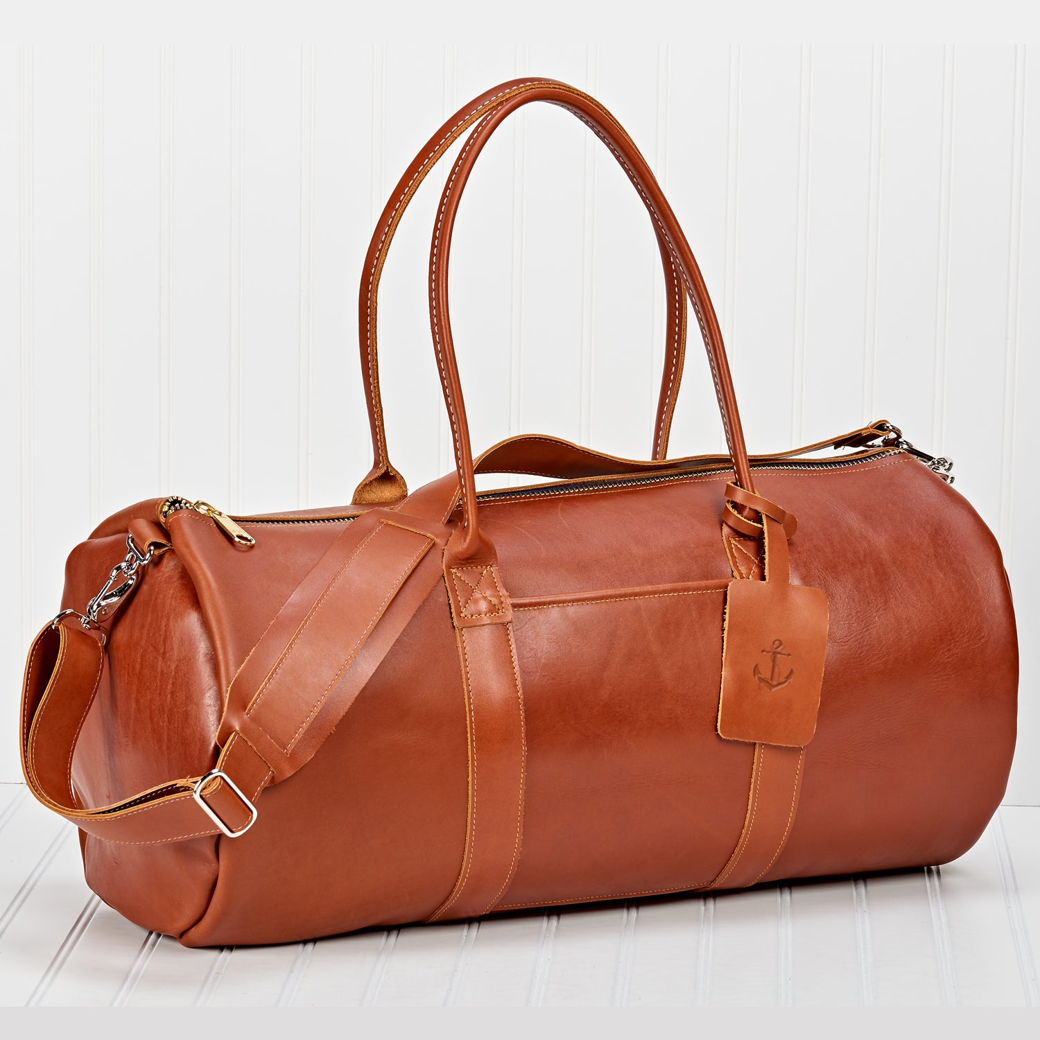 The Winston Weekender Duffle (In Nappa Leather)