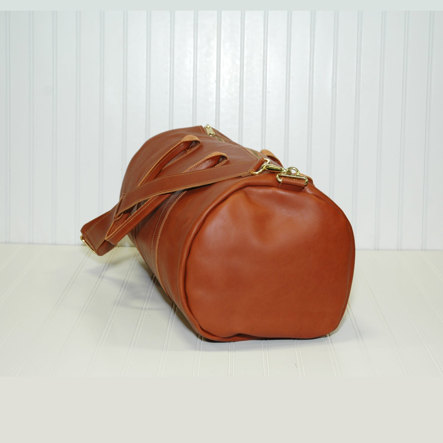 The Weekender Duffle (In Nappa Leather)