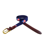 American Flag Ribbon Belt