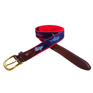Sharks and Minnows Ribbon Belt