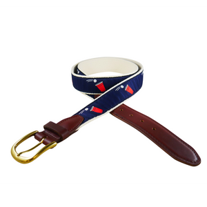 Beer Pong Ribbon Belt