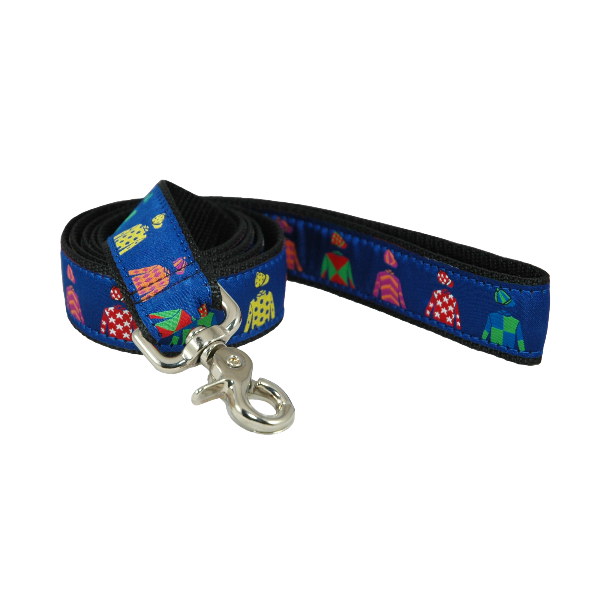 Jockey Silks Ribbon Dog Leash