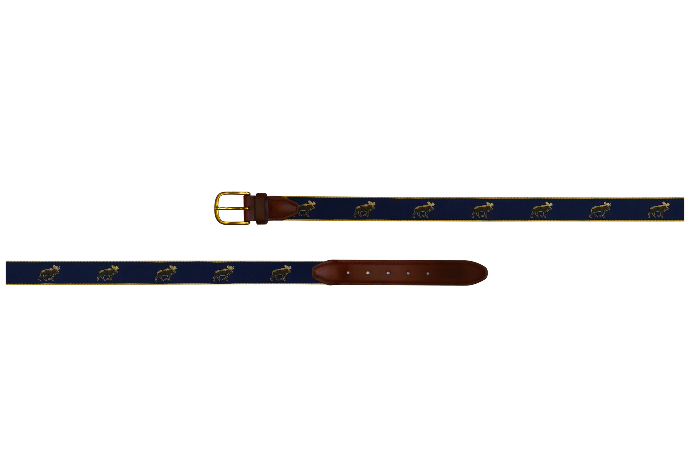 Moose Ribbon Belt