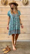 REIGN FLORAL SUMMER DRESS