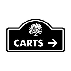 Carts Sign (Designer)