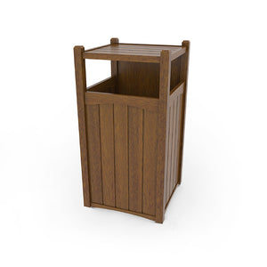 Trash Can Enclosure (3 Openings)