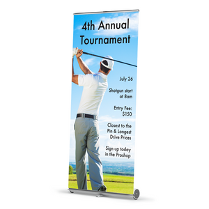 Vertical Banner w/ Stand
