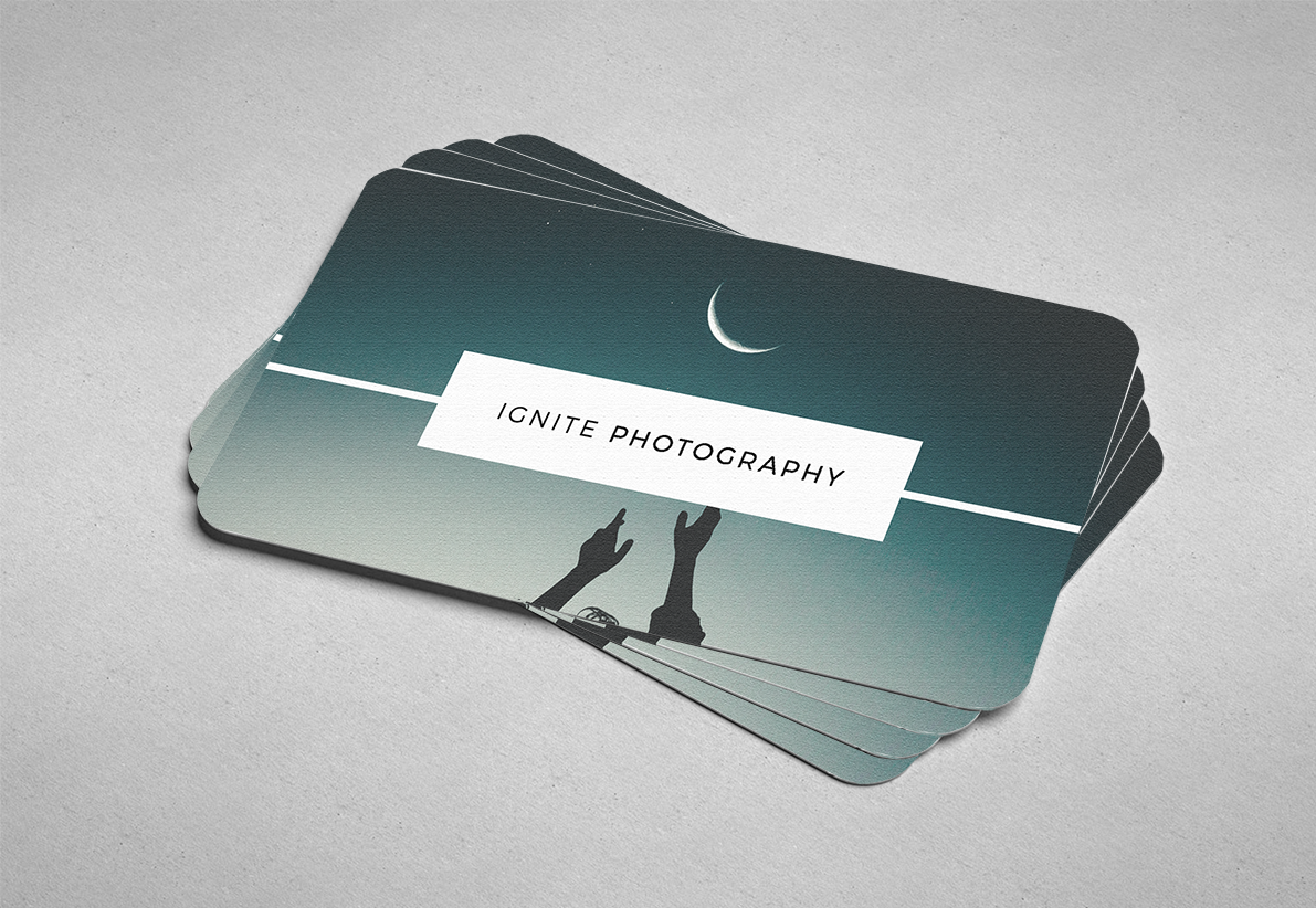Rainbow print design print signage your local print shop business cards reheart Images