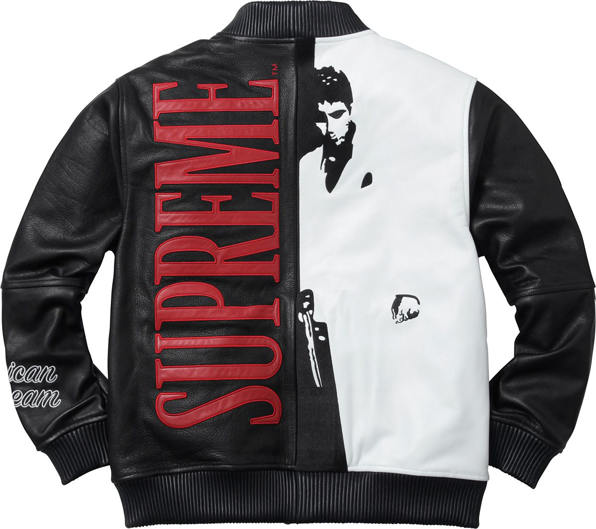 the best attitude 53ad8 53f59 ... Supreme scarface jacket Size   L