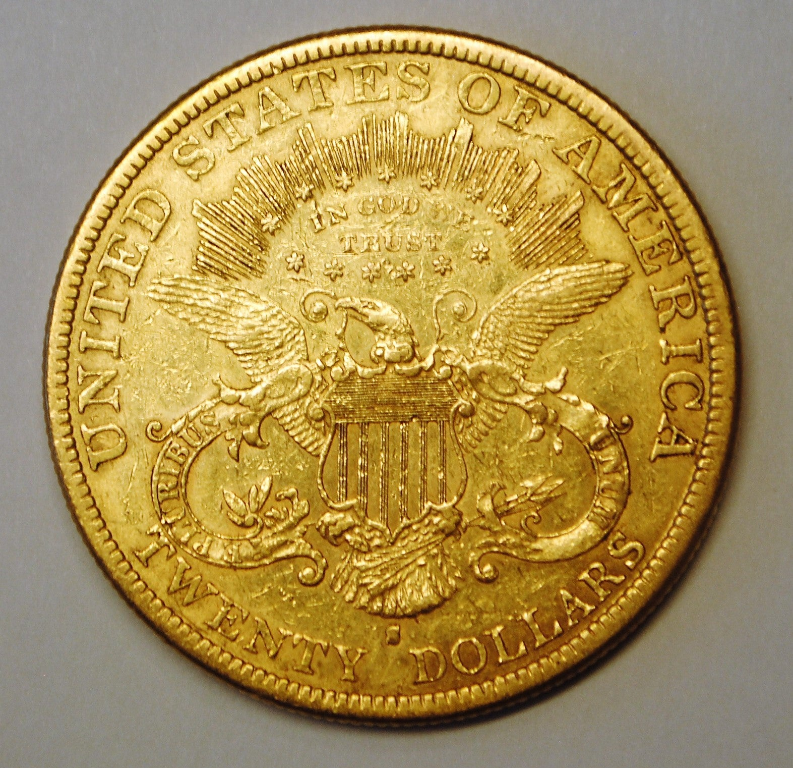 1879-S $20 Dollar Liberty Head Double Eagle Gold Coin