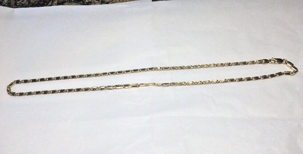 14k Solid Gold Italian Chain 18 Inches 13.7 Grams