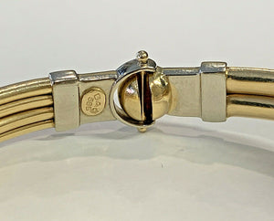 14k Gold Ladies Bracelet - 26.0 Grams - 8.3mm - 7 3/4 - 8""