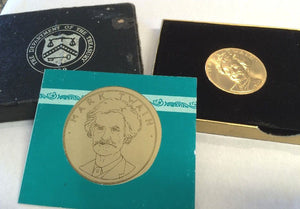 1981 Mark Twain American Arts  1 Ounce Gold Coin With Box and COA