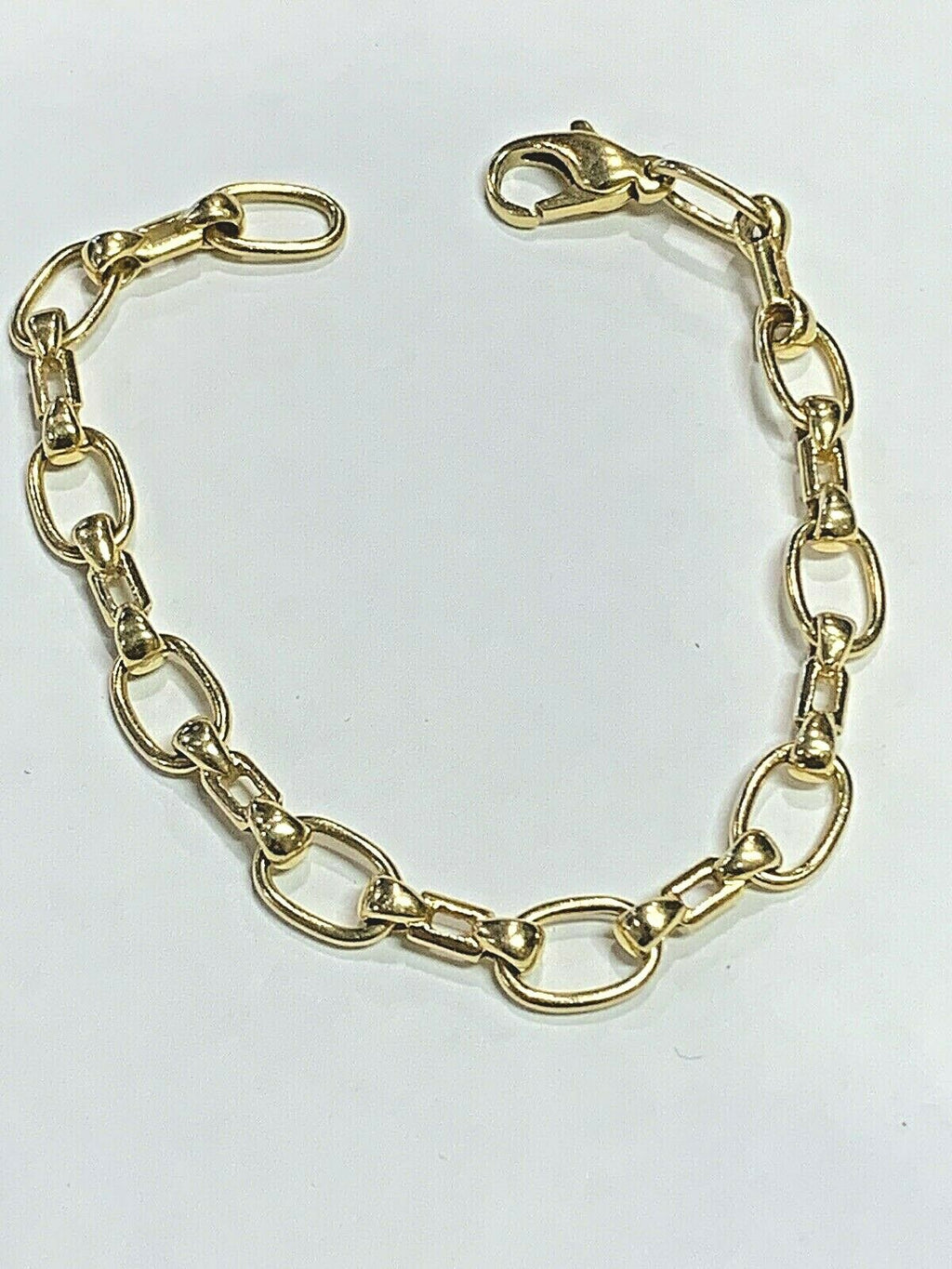 18k (.750) Gold Ladies Bracelet 16.8 grams - 7.5 inch - 8mm