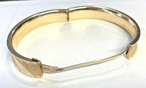 14k Gold Ladies Bracelet - 19.2 Grams - 10.7mm