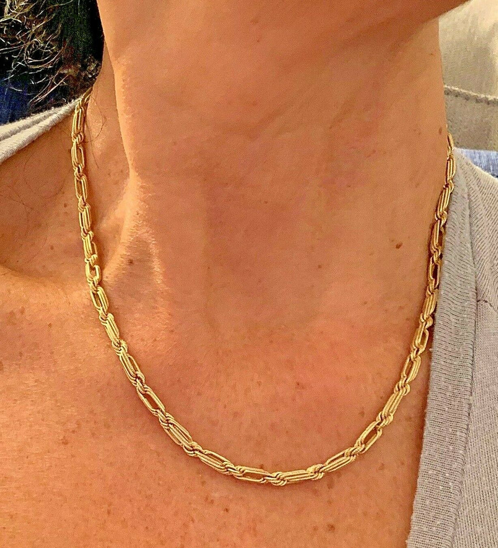 14k Yellow Gold Necklace 18 Inches