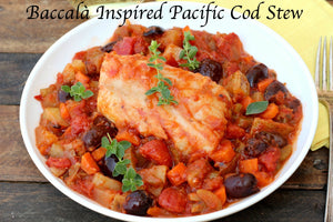 Baccalà Inspired Pacific Cod Stew