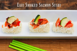 Easy Smoked Salmon Sushi