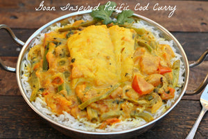 Goan Inspired Pacific Cod Curry