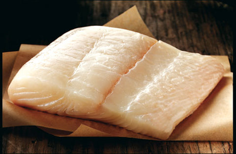 Halibut Skinless Portions - 5 lbs NYC