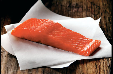 King Salmon Portions - 10lbs (1lb Portions)