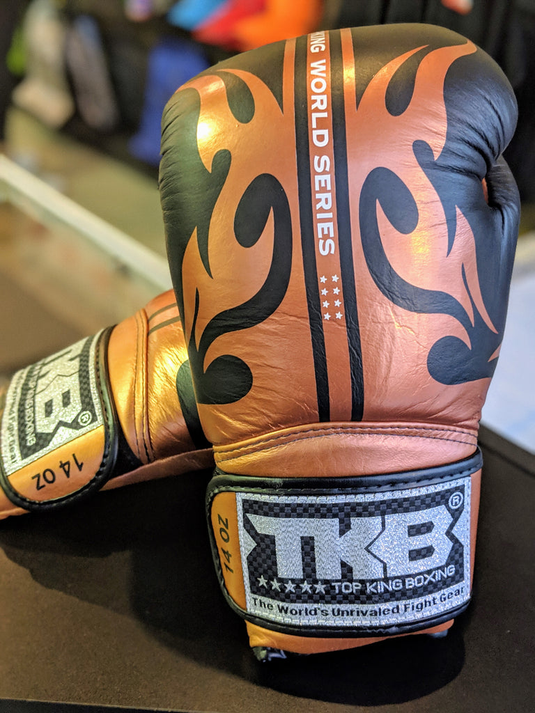 Top King World Series Boxing Gloves