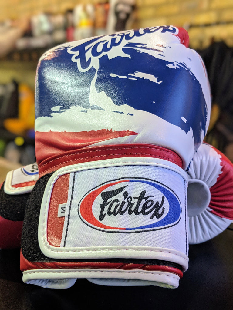 Fairtex Thai Flag Boxing Gloves