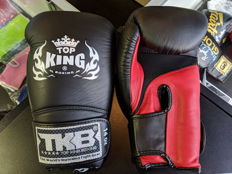 Top King Boxing Gloves Solid Color