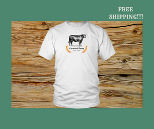Carwood Farm Shirt in toddler, youth, and unisex designs