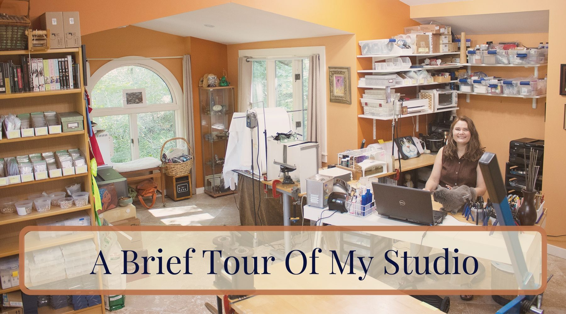 A brief tour of my studio