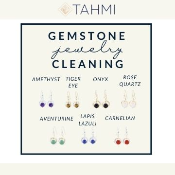 Gemstone Jewelry Care Maintenance and Cleaning