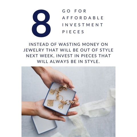 Jewelry Style Tip #8. - Go for affordable pieces